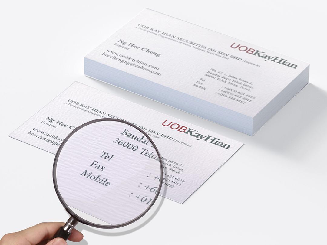 Linen Card